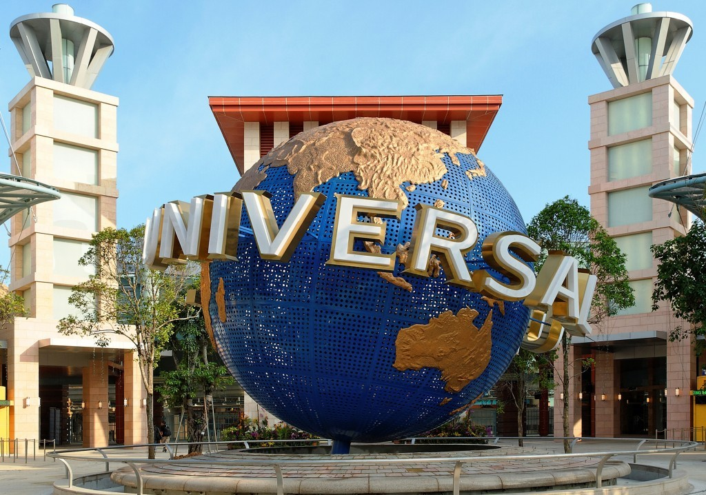 Singapore with Universal Studio