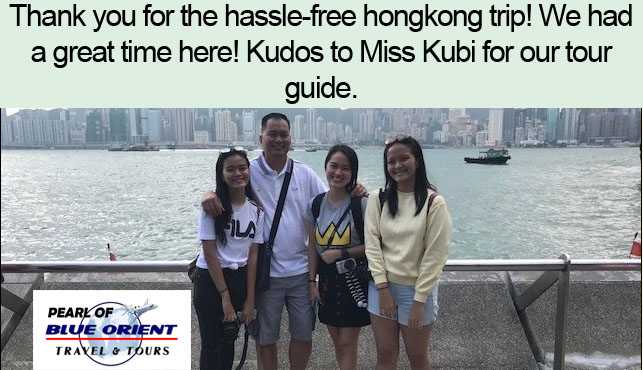 Travel Agency In The Philippines Going To Hongkong Disneyland